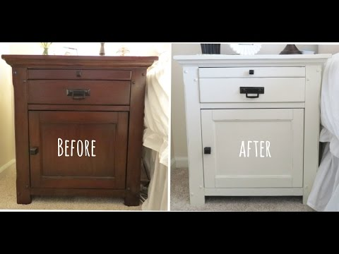 Furniture Makeover Using Annie Sloan Chalkpaint Youtube