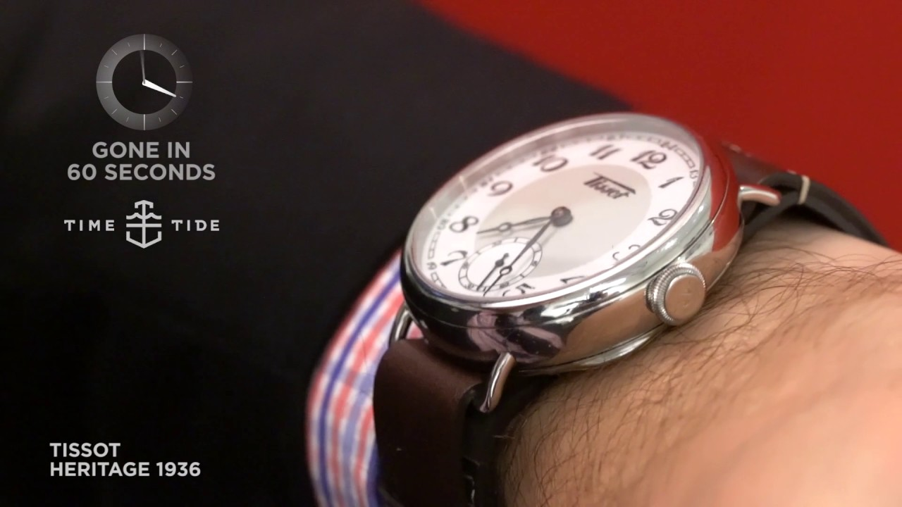 gone in 60 seconds tissot heritage 1936 youtube