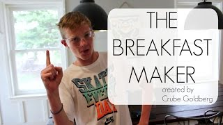 The Breakfast Maker - A Rube Goldberg Machine That Pours Your Cereal