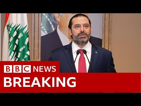 Lebanon's PM Saad Hariri resigning amid protests - BBC News