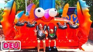 Vlad und Nikita im Sea World Amusement Park
