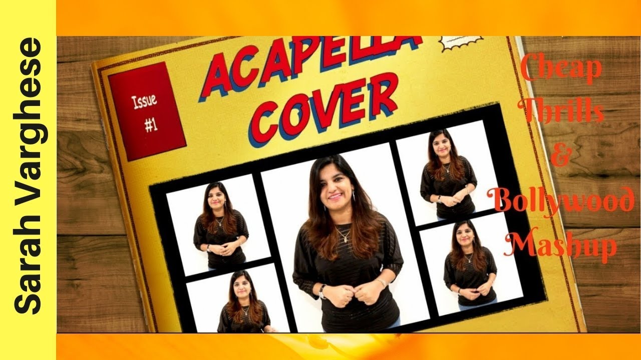 ✔ Sia -Cheap Thrills & Bollywood Mashup 2018 || Female Acapella Cover by  Mrs Purnima ✔✔