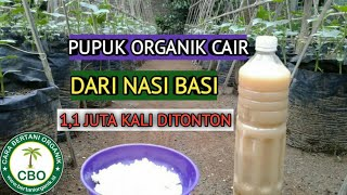 Download lagu Membuat Pupuk Organik Cair Dari Nasi Basi, Making Liquid Organic Fertilizer from Stale Rice