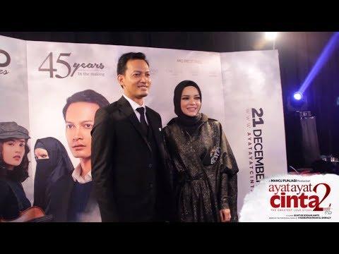 The Red Carpet of 'Ayat-Ayat Cinta 2'