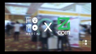 Zcoin at Consensus Singapore