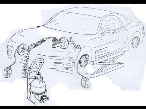 устройство для прокачки тормозов своими руками( Brake bleeder and vacuum pump)