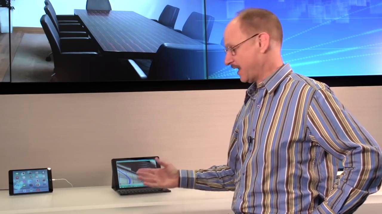 Citrix X1 Mouse Demo on an iPad