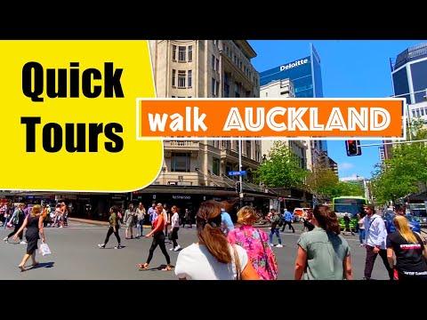 Walk Queen Street to High Street (2020) Auckland City