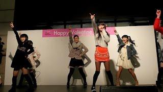 2015年2月14日 博多大丸 パサージュ広場 ハッピーバレンタインライブ.