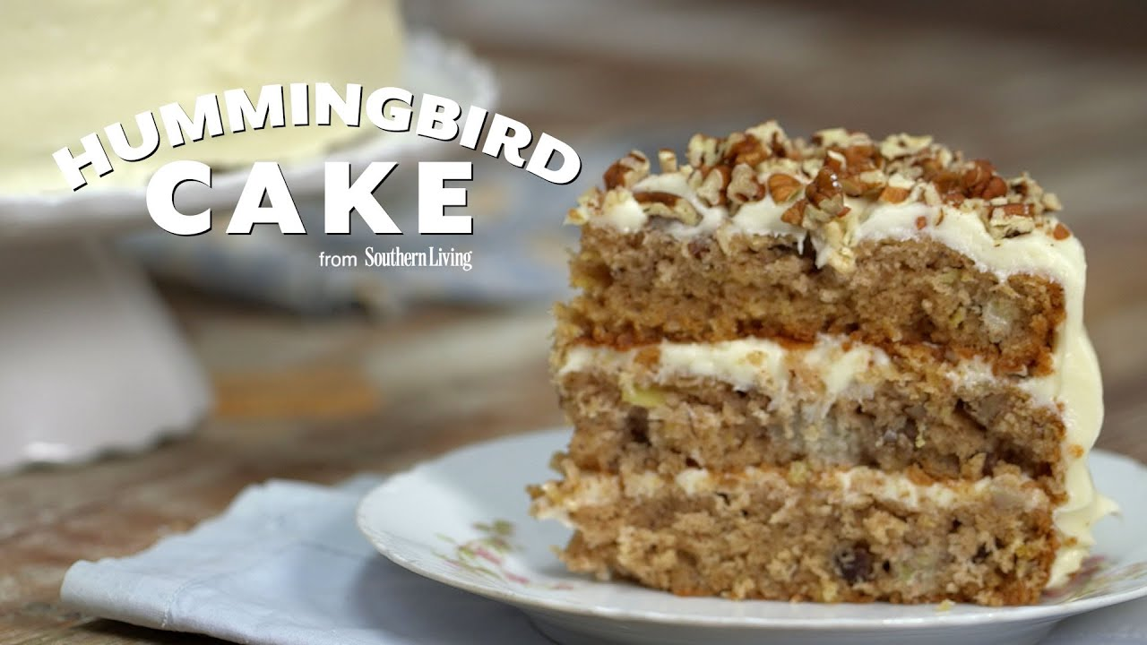 How To Make Hummingbird Cake Southern Living YouTube