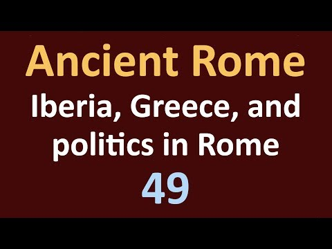 Second Punic War - Iberia, Greece, and politics in Rome - 49