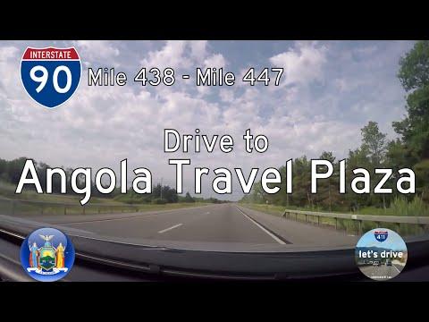 🚙 Let's Drive - NY: I-90 from MM 438 to Angola Travel Plaza