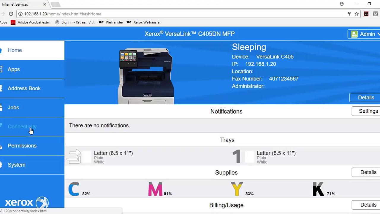 Xerox Versalink Configuring Airprint Youtube