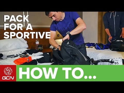 How To Pack Your Sportive Kit Bag | Ridesmart