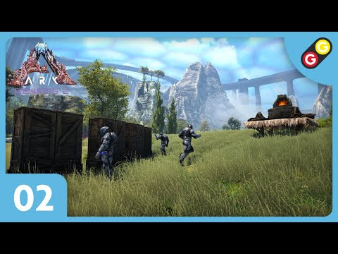 ARK : Survival Evolved - Genesis 2 #02 On installe notre base ! [FR]
