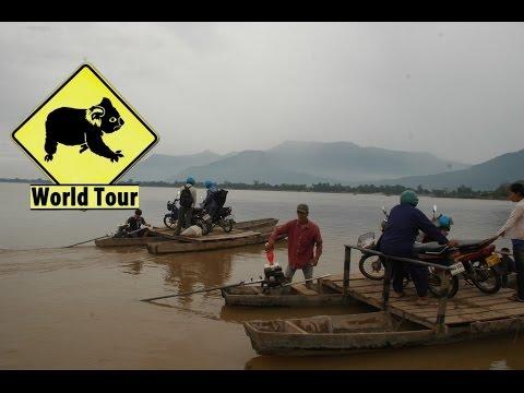 Voyage au Laos Champassak Vat Phou Maryse & Dany © Youtube