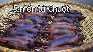 Ăn thịt chuột tại làng chuyên chế biến lâu đời Canh Nậu Thạch Thất Hà Nội #hnp