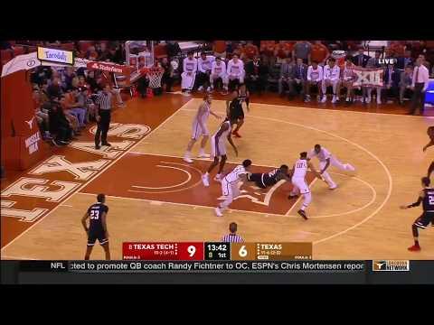 Texas Tech vs Texas Men's Basketball Highlights