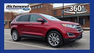 2018 Ford Edge Titanium 360 Degree Virtual Test Drive