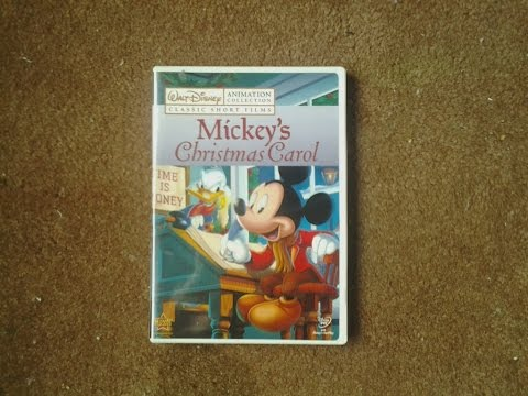 Mickeys Christmas Carol Dvd.Walt Disney Animation Collection Volume 7 Mickey S Christmas Carol Dvd