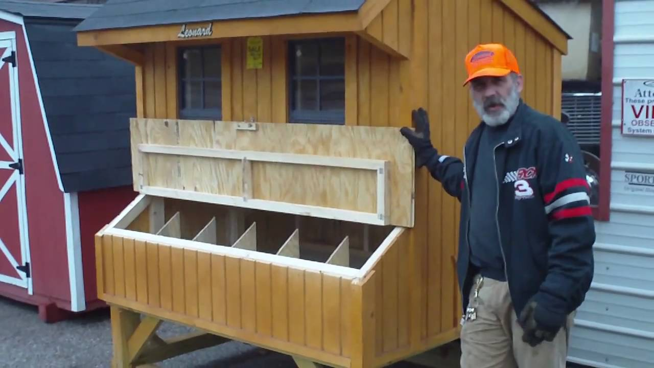 Ready Built Chicken Coop Youtube