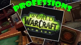World of Warcraft: Legion - How to get ranks in Mining in Legion