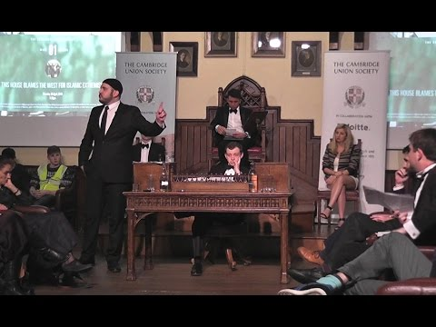 Cambridge Debate: IS THE WEST TO BLAME FOR ISLAMIC EXTREMISM? (Terrorism)