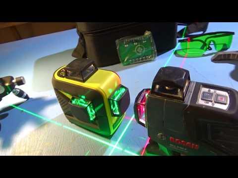 Стоит ли покупать ДОРОГОЙ лазерный уровень? Firecore F93T XG vs Bosch GLL 3 80