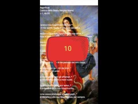 50 Magnificat preghiera per la pace  richiesta dalla Madonna