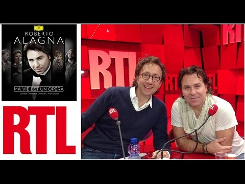 "Roberto Alagna | RADIO ""A la bonne heure"" | RTL 11 nov 2014 | ""Ma vie est un opéra"""