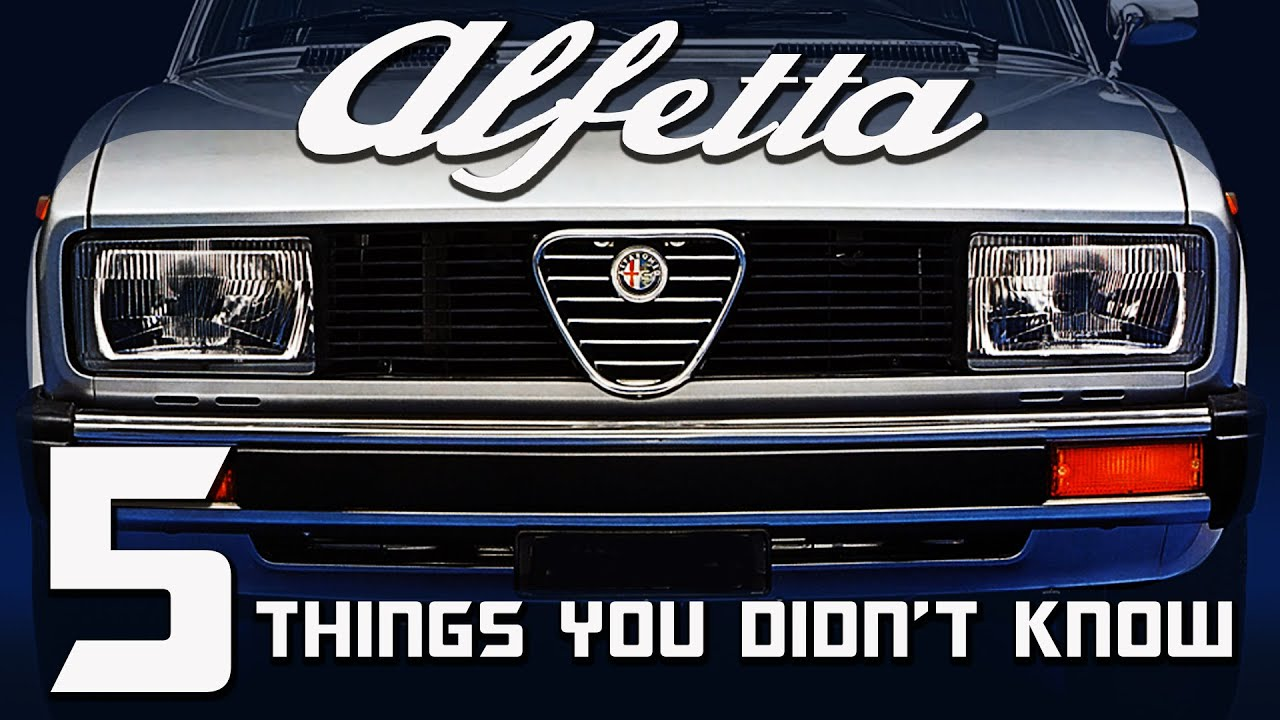 Things You Didn't Know About The Alfa Romeo Alfetta