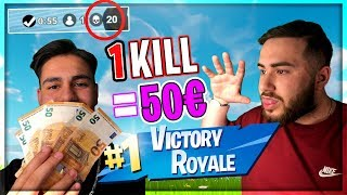 PRO KILL 50€ !! with my little BRUDER and that happened ... (Fortnite)