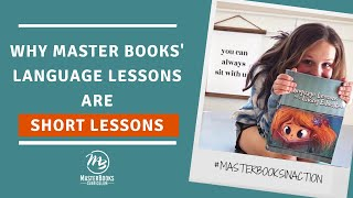 Why Language Lessons are Short Lessons // Master Books Homeschool Curriculum