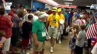 Land of Lincoln Honor Flight - June 19, 2012 - Arrival in Springfield, Il