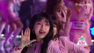 Produce101 China 创造101 FINAL Pick Me Theme Song Performances 101 Trainees Produce 101 Girls