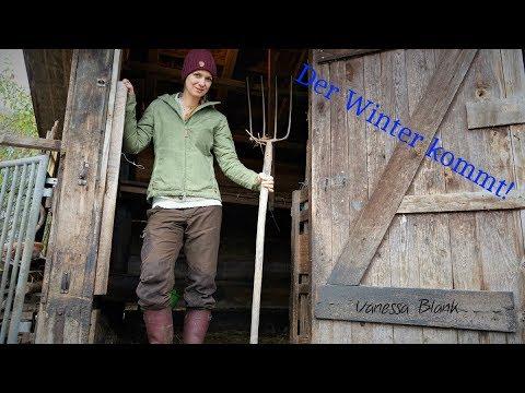 Selbstversorger - Der Winter kommt - So bereite ich mich vor - Vanessa Blank - 4K