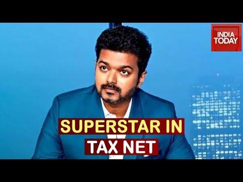Income-Tax Raids Tamil Superstar Vijay's Chennai house