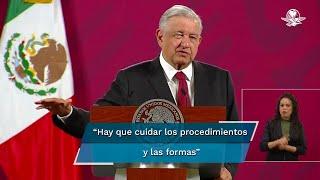 El presidente Andrés Manuel López Obrador dijo que si el ministro presidente de la SCJN, Arturo Zaldívar, no asistió, está en su derecho, porque es el representante de un poder autónomo
