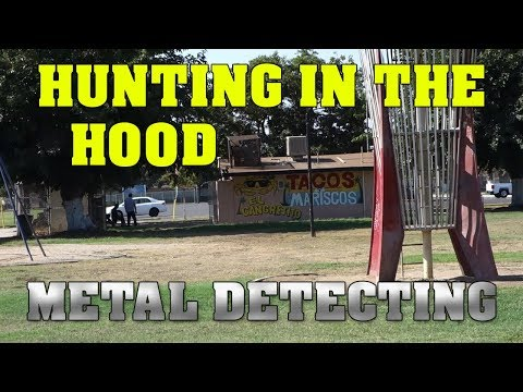 Metal Detecting In The Hood - Fresno Edition