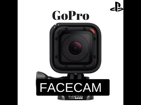 how to use gopro facecam ps4 2017 youtube