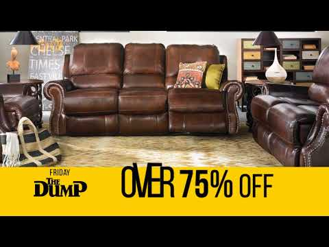 Friday The Dump Will Blow Up Leather Reclining Furniture Youtube