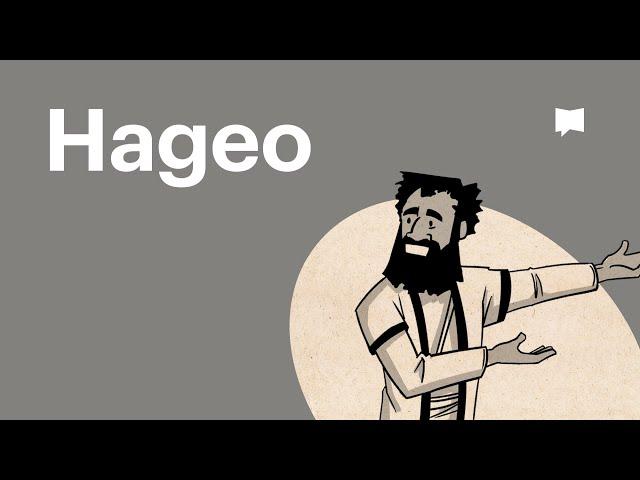 Lee la Biblia: Hageo