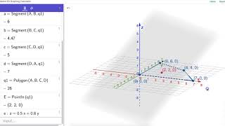 Working with Linear Programming Problems in GeoGebra's 3D Graphing Calculator