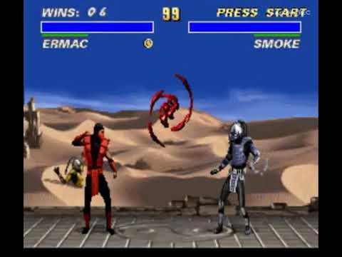 Download Ultimate Mortal Kombat 3 SNES Ermac Crazy Combos TAS