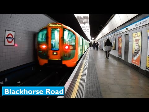 London Underground : Blackhorse Road | Victoria line ( 2009 Tube Stock )