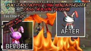 BUG TAS PINK RABBIT MENJADI ELITE PASS SEASON 1 - Garena Free Fire Battleground
