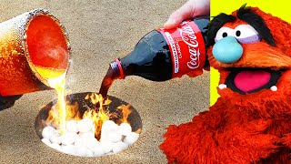 EXTREME LAVA vs COKE & MENTOS and EVERYDAY ITEMS! (AMAZING)