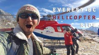 Everest Base Camp Helicopter Adventure Tour Ride & Flight Back to Lukla, Nepal | EBC Trek Himalayas