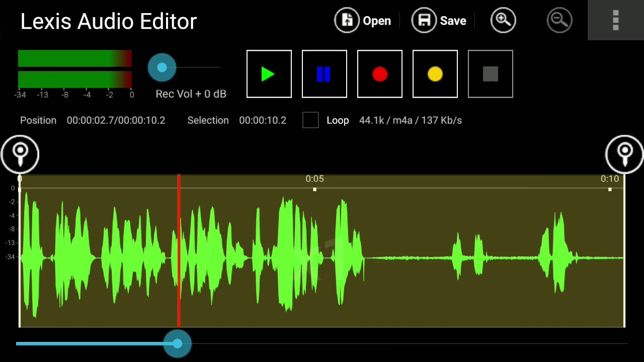 Best Audio Editor App For Android In 2019 Lexis Audio Editor Best Audio Editing App In 2019 Youtube