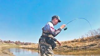 КРУТО! ЭТА СНАСТЬ ЛОВИТ ЛЮБУЮ РЫБУ! Необычная рыбалка. Ищем активного карася!